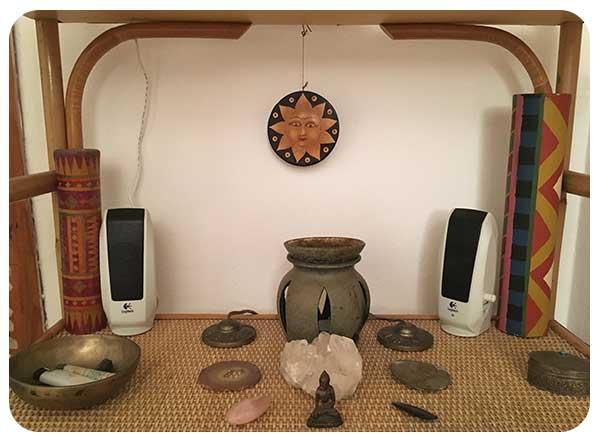Objetos meditación