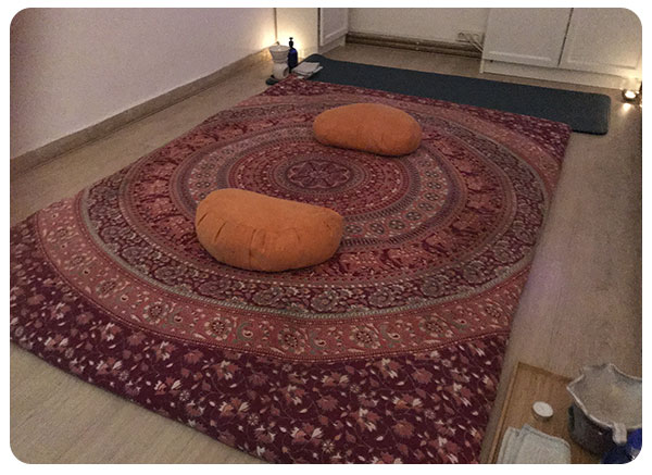Sala de masaje Tántrico